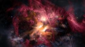 محاكاة تكشف ما قد تبدو عليه المادة المظلمة إذا تمكنا من رؤيتها!