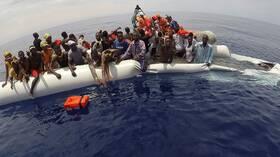 المنظمة الدولية للهجرة: غرق 24 مهاجرا على الأقل قبالة ليبيا