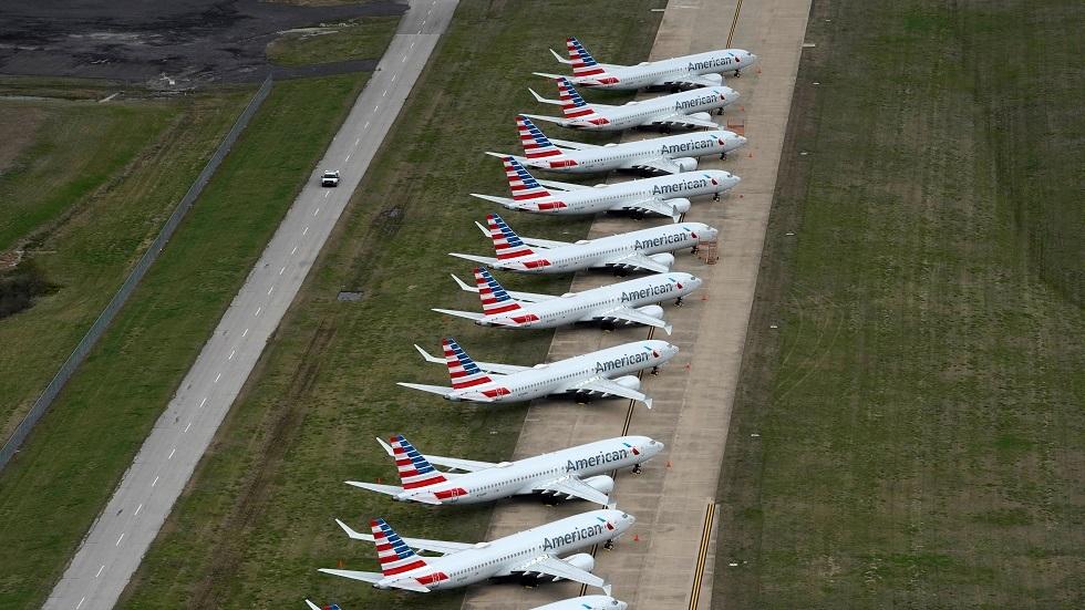 اثنتان من كبريات شركات الطيران الأمريكية تسرح عشرات آلاف الموظفين