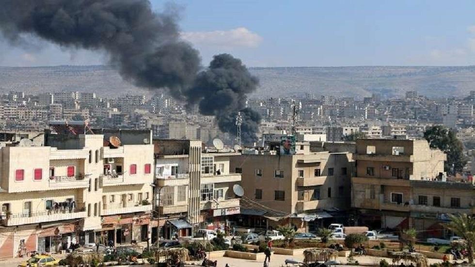 انفجار عبوة ناسفة في عفرين بسوريا