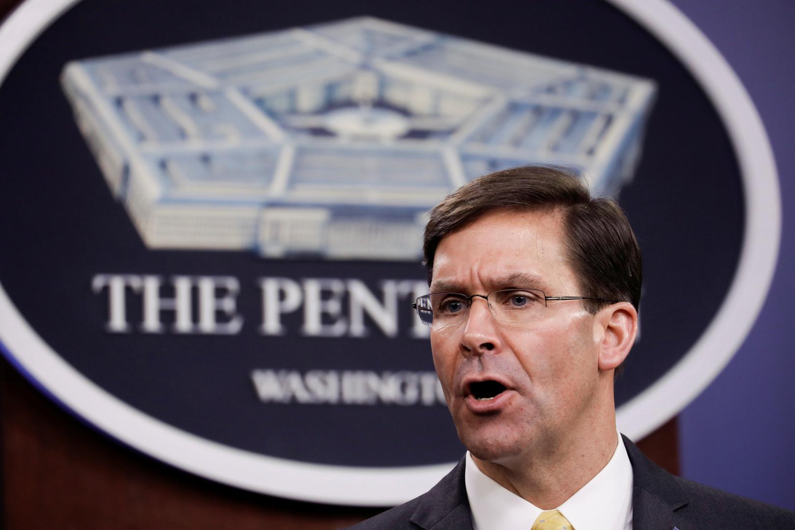 وزير الدفاع الأمريكي يصل إلى الجزائر في أول زيارة منذ 15 عاما