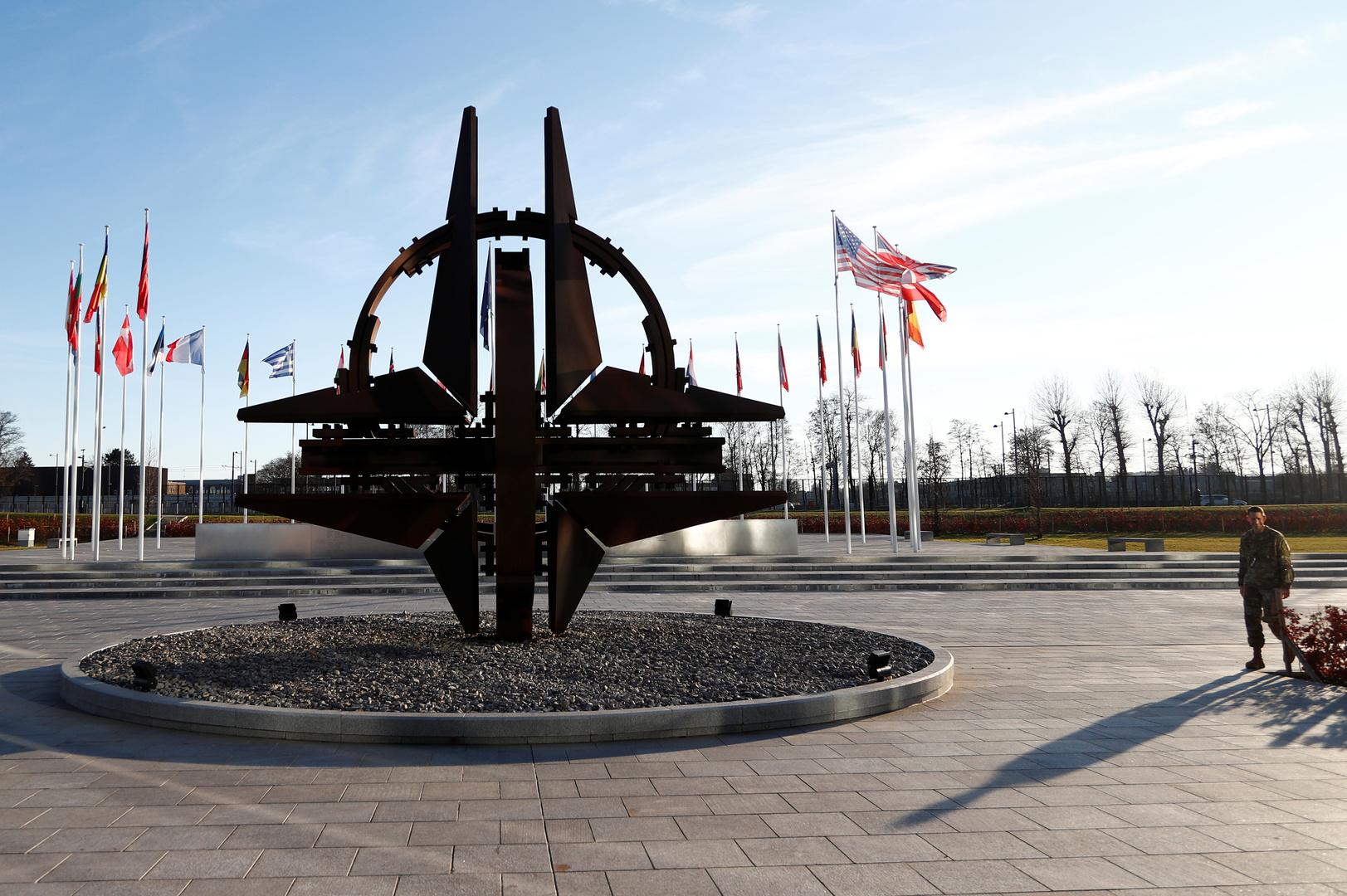 مقر حلف الناتو في بروكسل.
