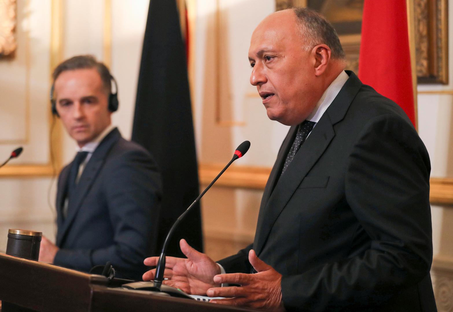 وزير الخارجية المصري ردا على تركيا: مصر لم تفرط في حبة رمل و لن تفرط في نقطة من مياهها الإقليمية