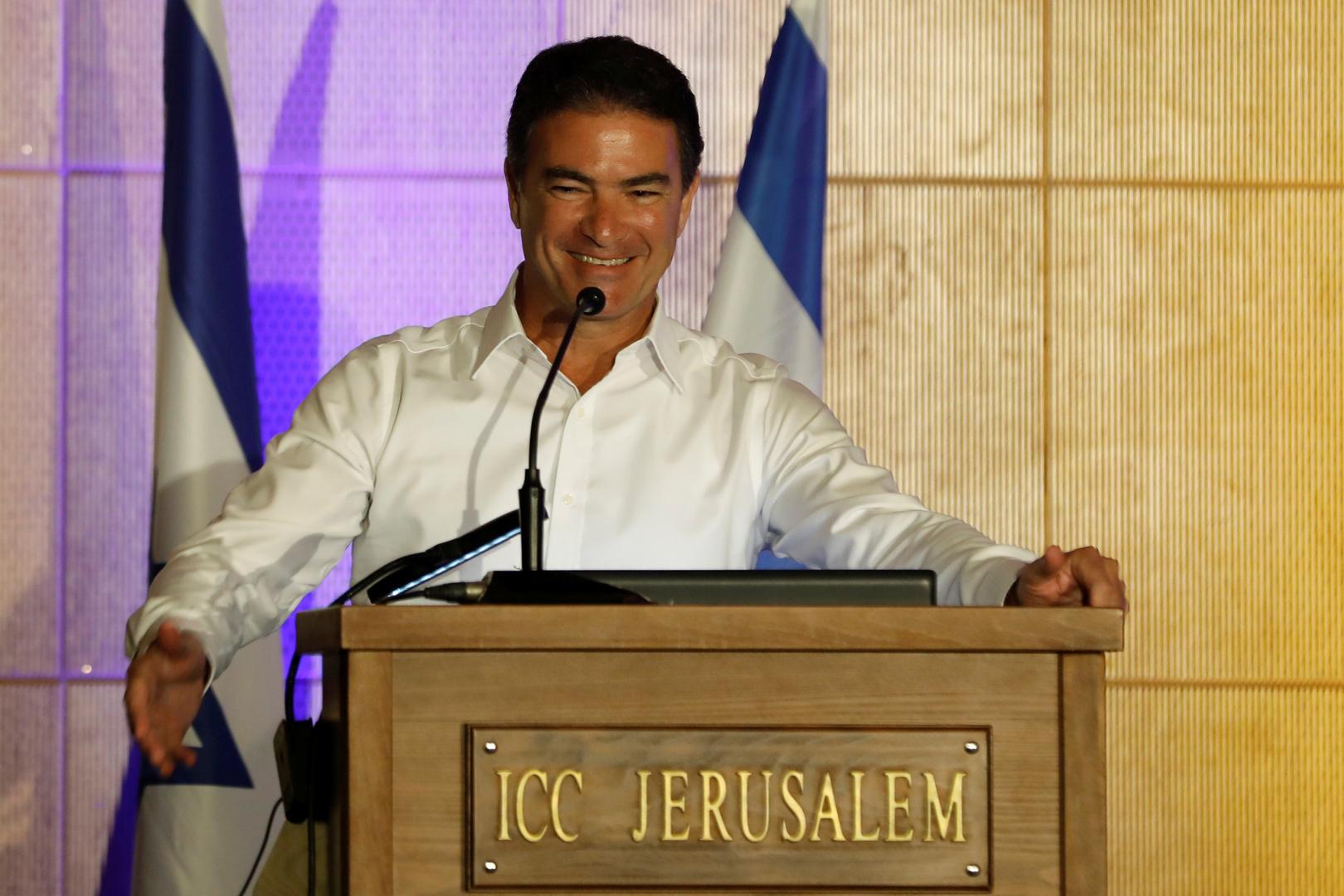 """رئيس جهاز المخابرات الإسرائيلي """"الموساد""""، يوسي كوهين."""