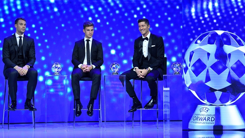كرة القدم.. قائمة الفائزين بجوائز الأفضل في أوروبا 2020