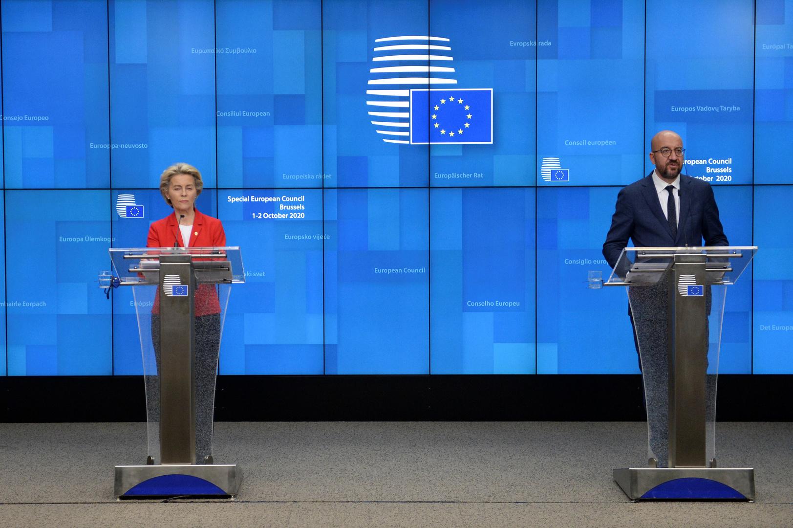 الاتحاد الأوروبي يهدد تركيا بعقوبات بسبب