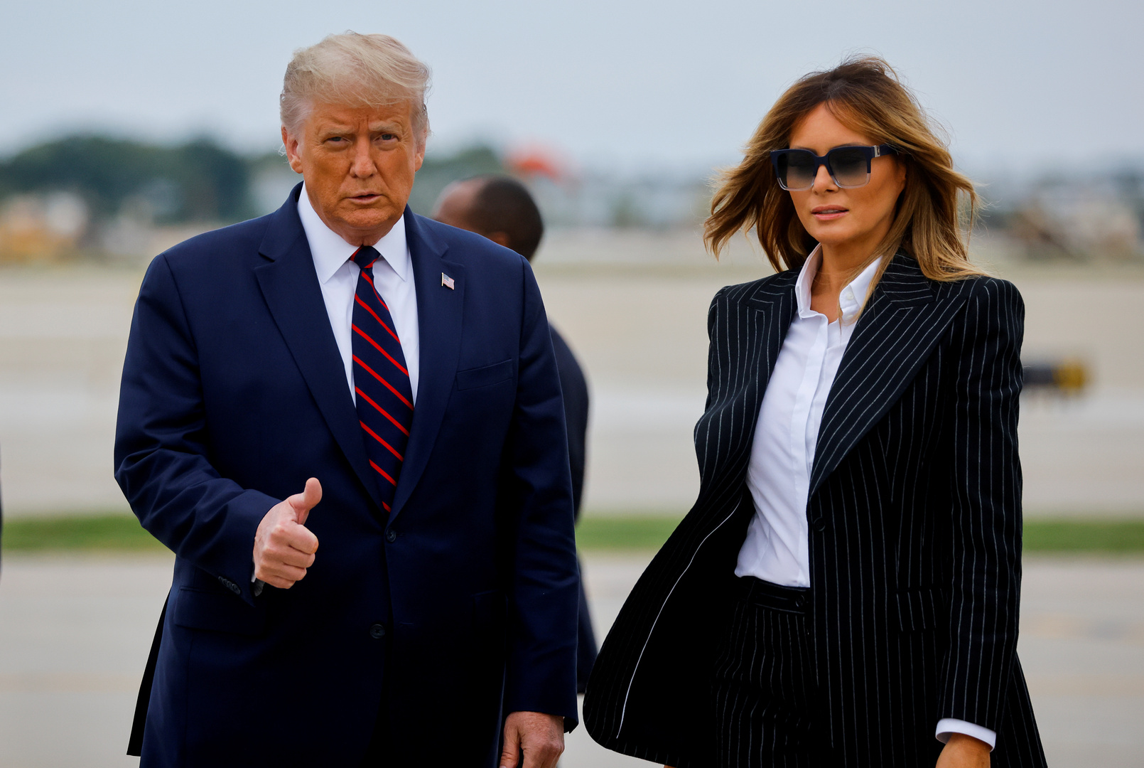 إصابة ترامب وزوجته ميلانيا بفيروس كورونا