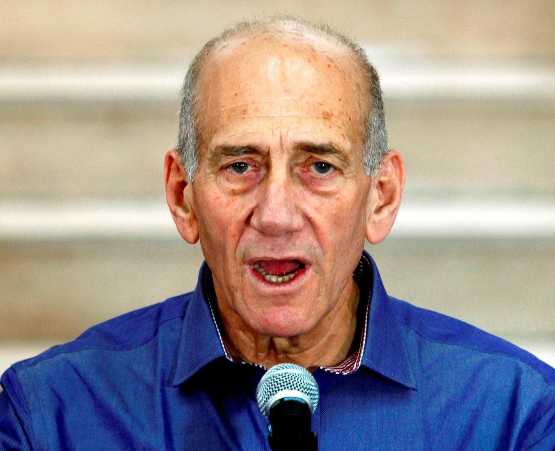 رئيس الوزراء الإسرائيلي الأسبق إيهود أولمرت