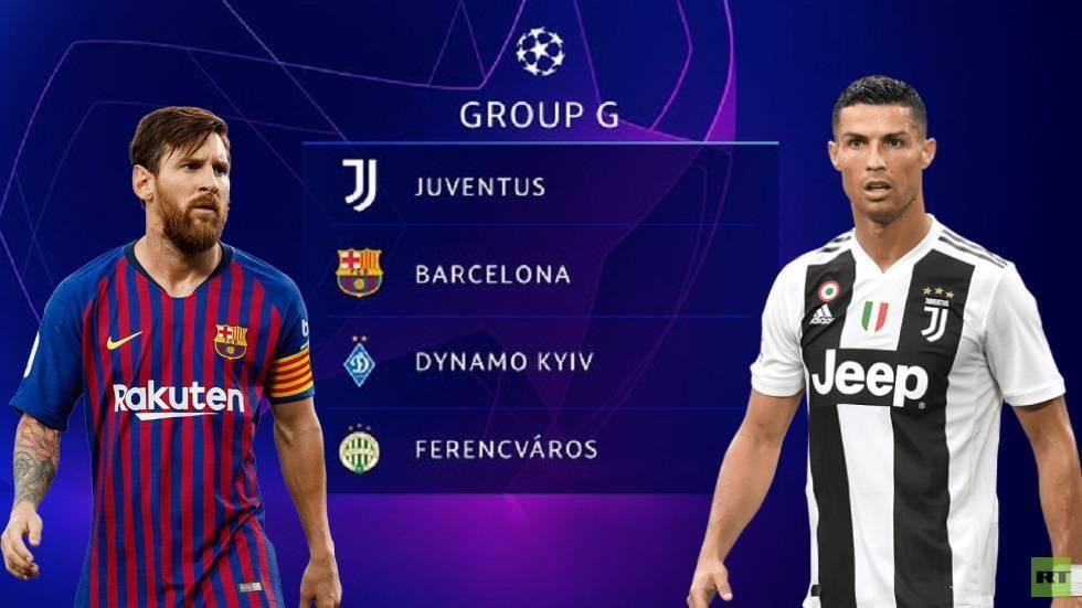 موعد مواجهة النجمين رونالدو وميسي في دوري أبطال أوروبا (2020-2021)
