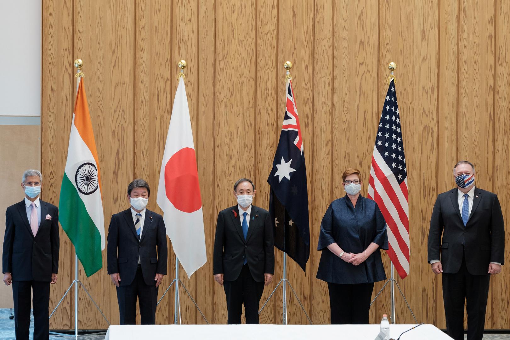 بومبيو يندد بأنشطة الصين خلال زيارته إلى طوكيو