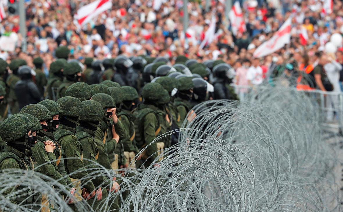 احتجاجات في بيلاروس على النتائج الرسمية للانتخابات الرئاسية السابقة