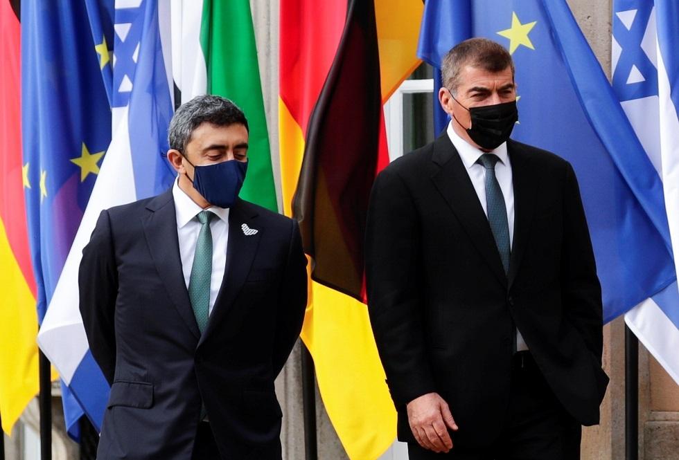 وزيرا خارجية الإمارات وإسرائيل يبحثان التعاون في مجال الطاقة