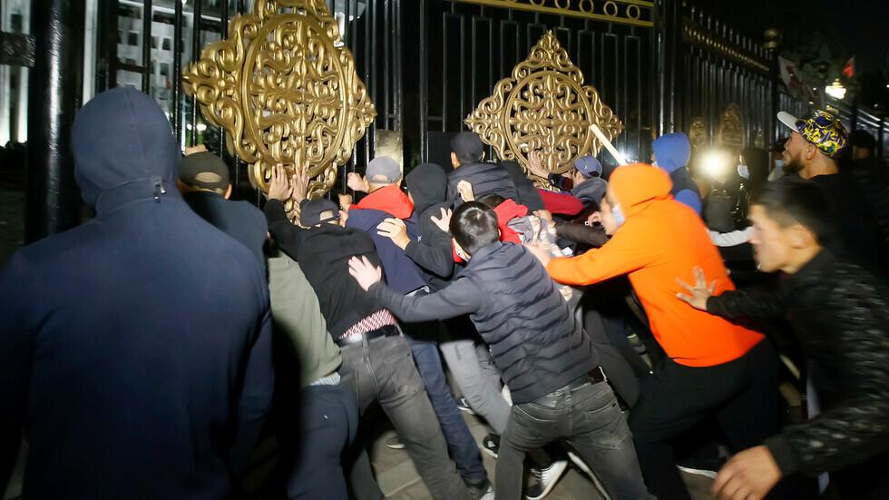 في روسيا حددوا سبب الاحتجاجات في قرغيزستان