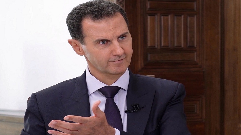 الأسد: ليس لدينا قوات إيرانية وهذا واضح جدا