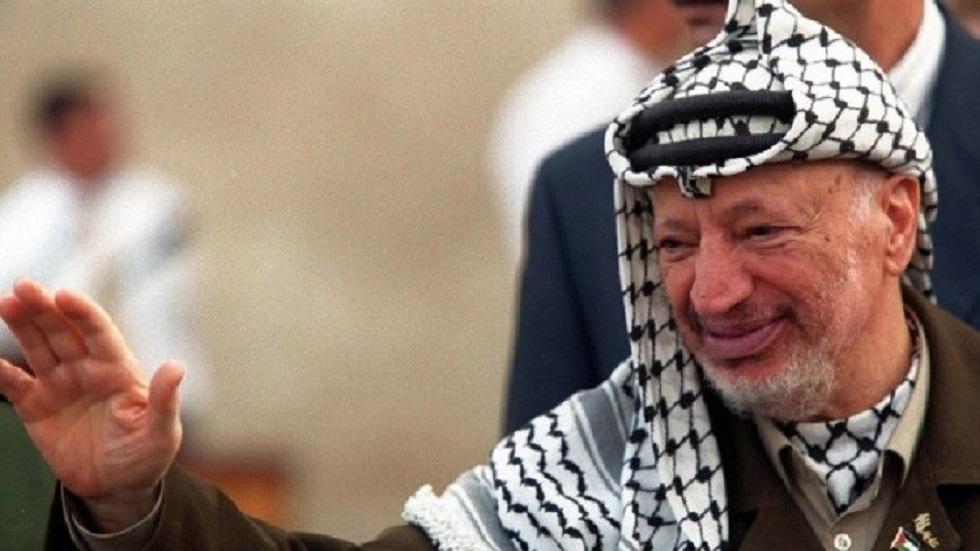 الزعيم الفلسطيني الراحل ياسر عرفات