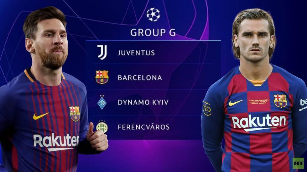 برشلونة يكشف قائمته لخوض دوري أبطال أوروبا