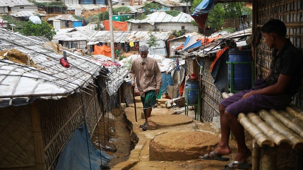 أحد مخيمات اللجوء لمسلمي الروهينغا - أرشيف