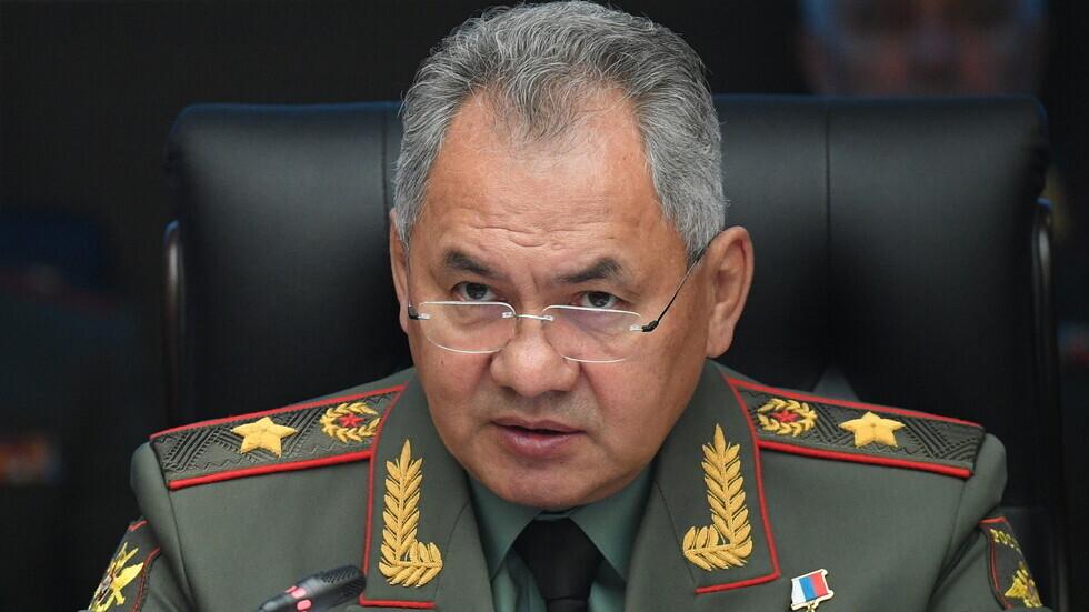 وزير الدفاع الروسي سيرغي شويغو.