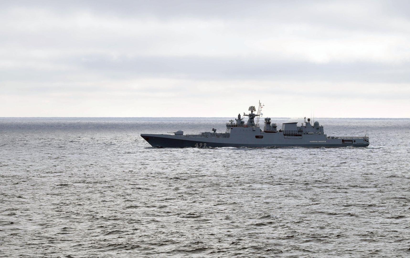 الجيشان الروسي والمصري يجريان تدريبات بحرية لأول مرة في البحر الأسود