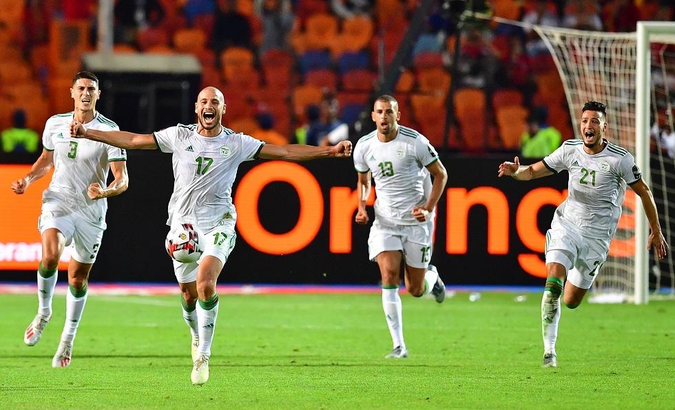 شاهد.. هدف منتخب الجزائر في مرمى نيجيريا