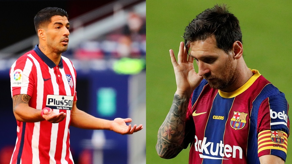 سواريز: ميسي سيستمر مع برشلونة في حالة واحدة