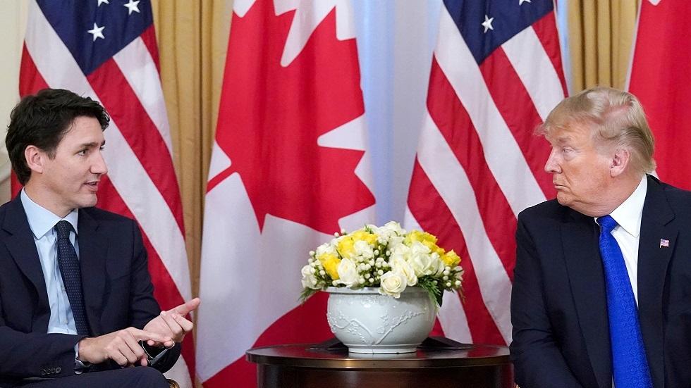 ترامب وترودو يناقشان قضية كنديين اثنين محتجزين في الصين
