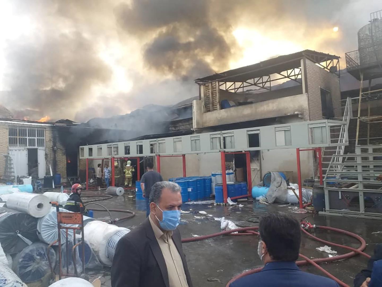 قتلى وجرحى بانفجار غاز في مدينة الأهواز جنوب غربي إيران