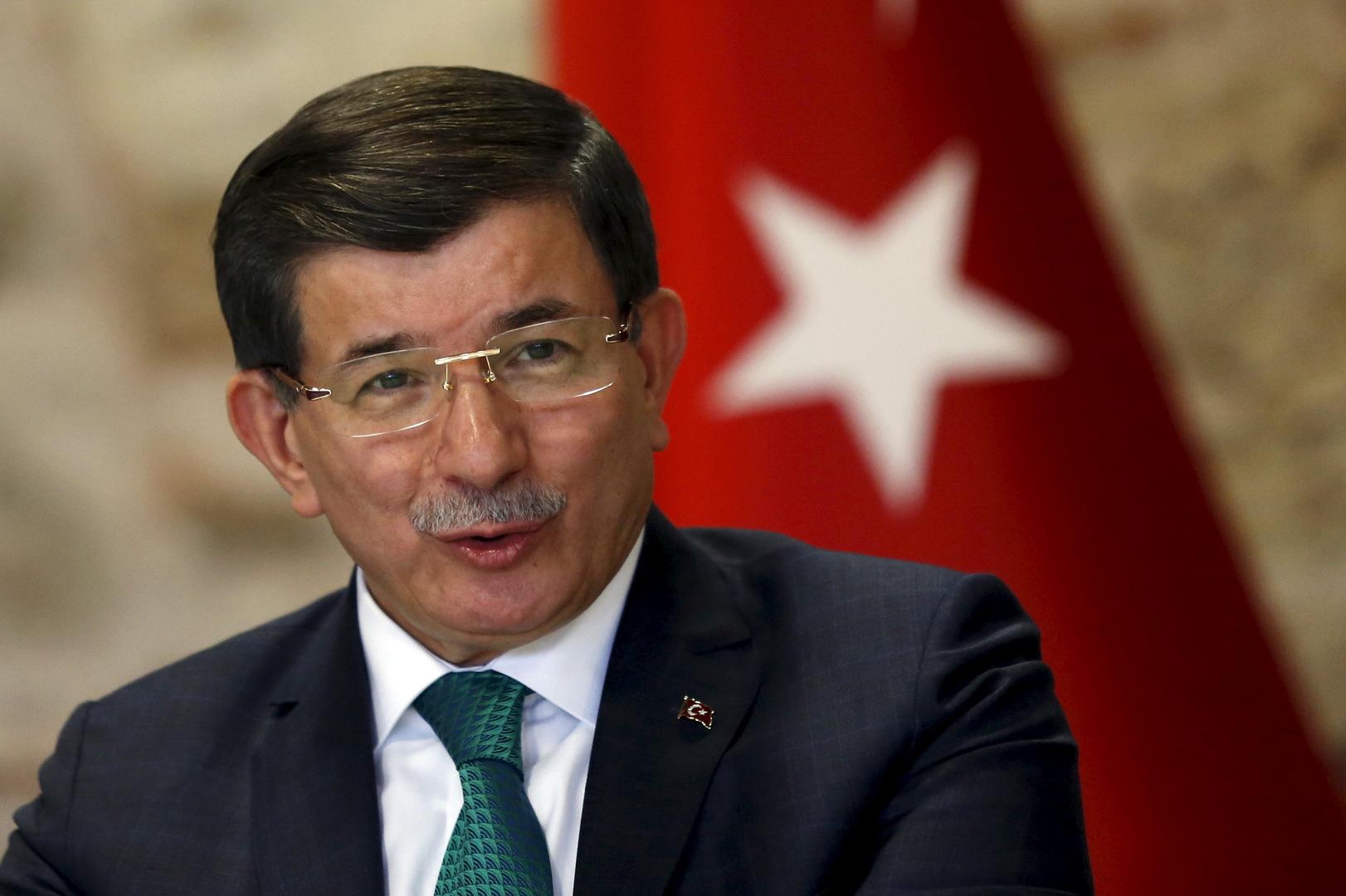أحمد داوود أوغلو زعيم حزب المستقبل في تركيا