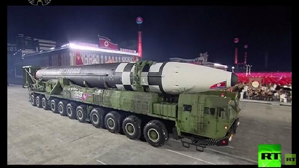 طوكيو: لا يمكننا اعتراض الصواريخ التي عرضتها كوريا الشمالية