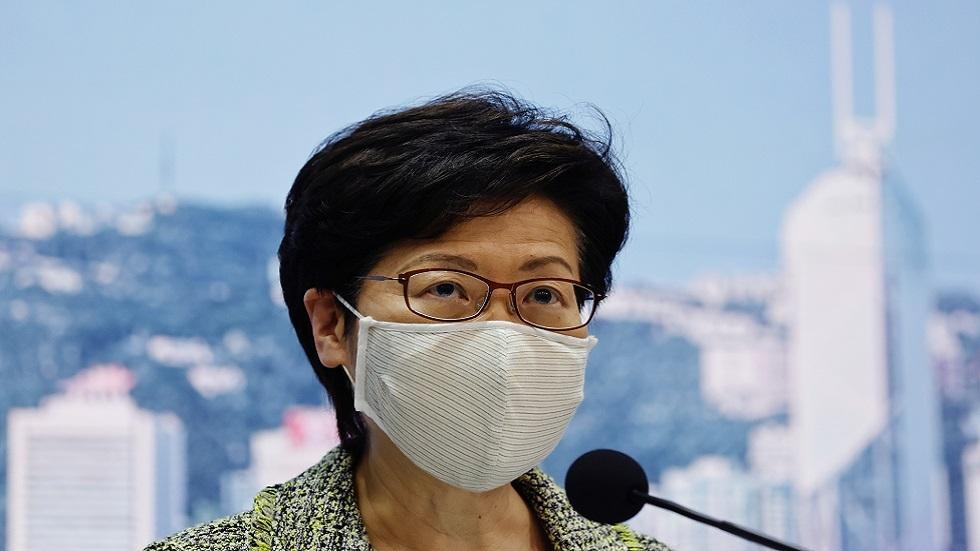 زعيمة هونغ كونغ تؤجل كلمتها السنوية إلى ما بعد زيارة بكين
