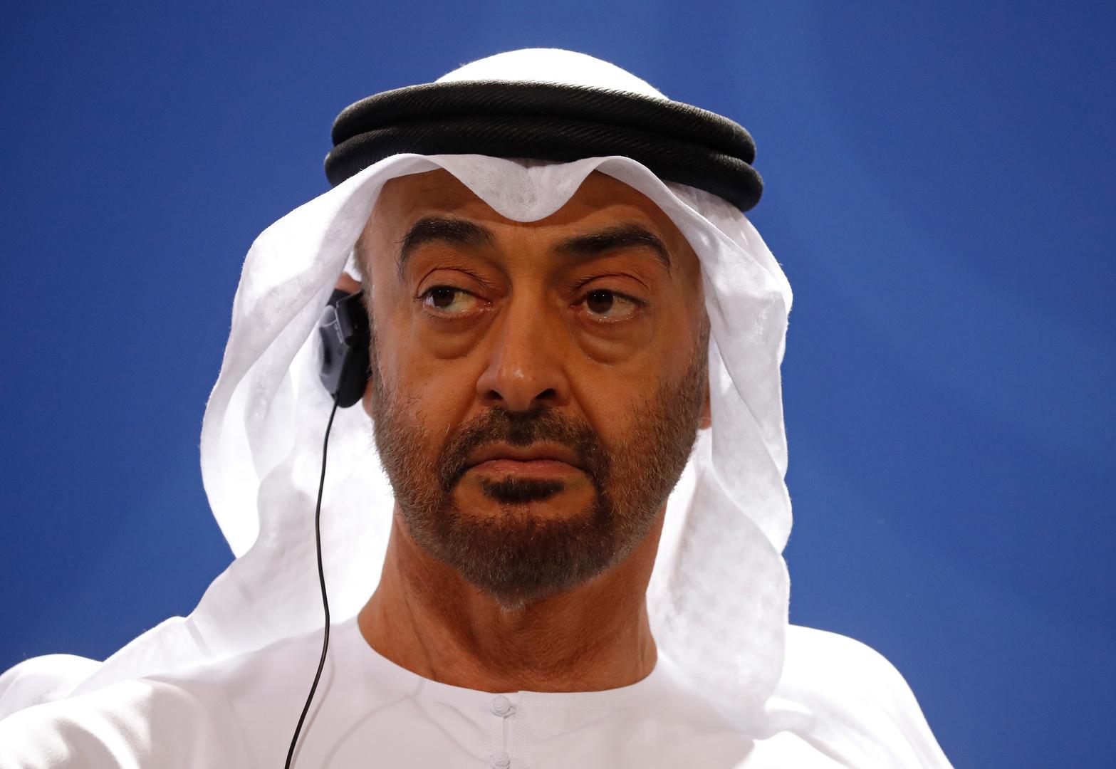 ولي عهد أبو ظبي يكشف مضمون المكالمة الهاتفية مع نتنياهو