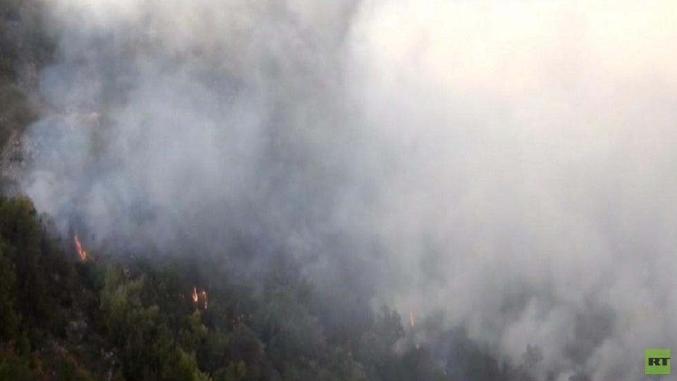 أضرار جسيمة ونزوح نتيجة الحرائق بسوريا