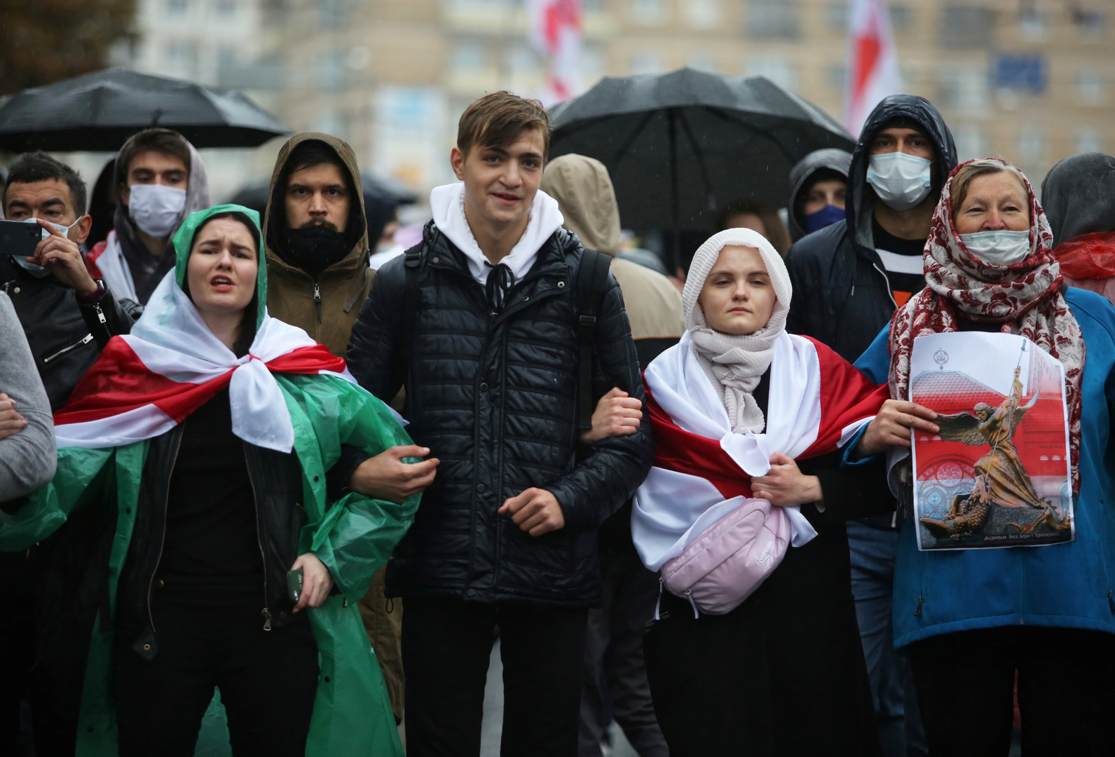 معارضون بيلاروسيون