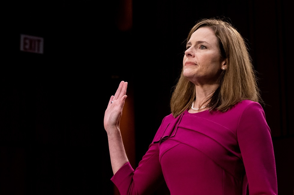 مرشحة ترامب للمحكمة العليا القاضية إيمي كوني باريت