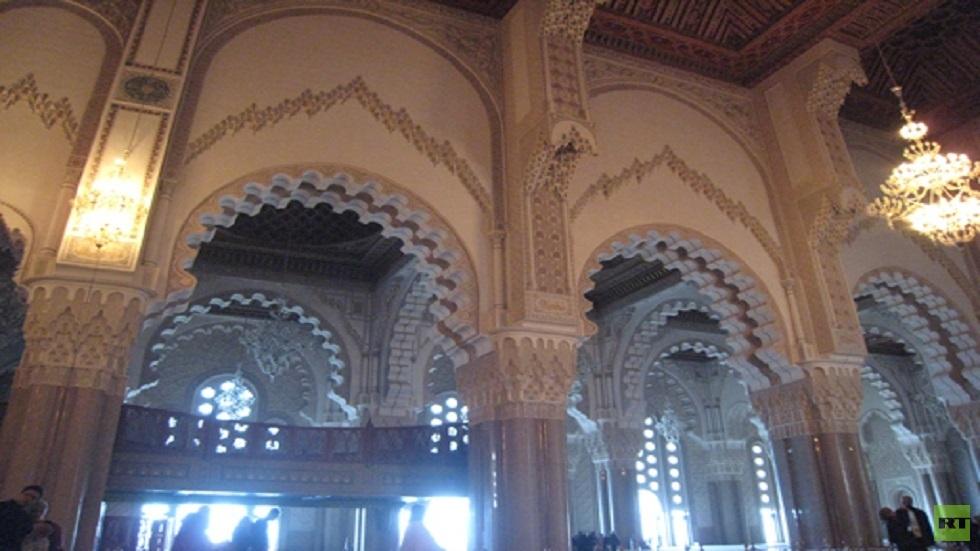 أحد مساجد الدار البيضاء في المغرب - أرشيف