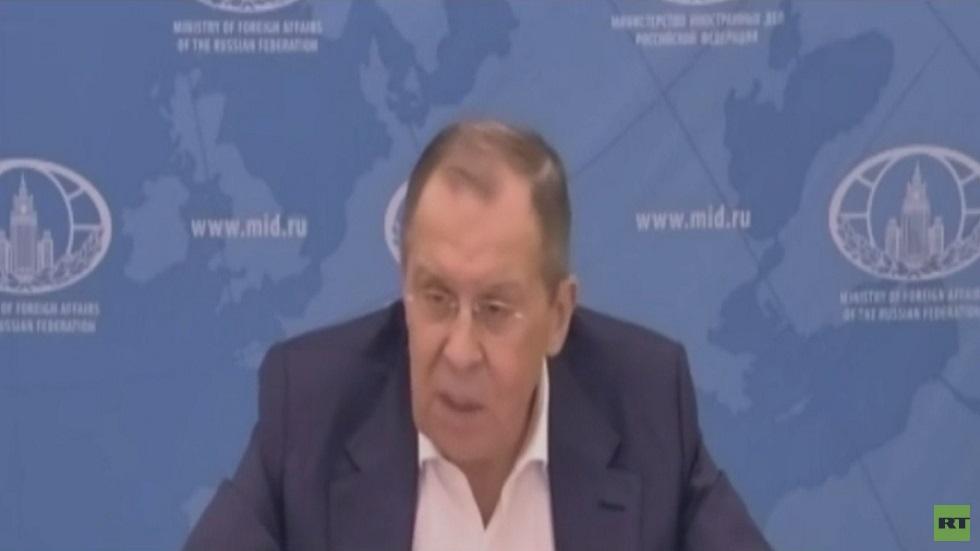 لافروف يحذر من وقف حوار روسيا وأوروبا