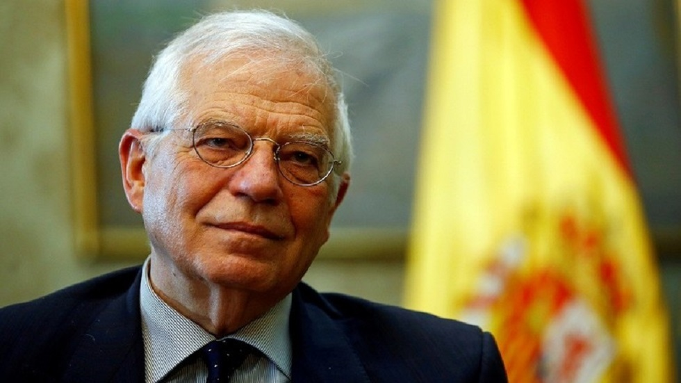 الممثل الأعلى للسياسة الخارجية والأمن في أوروبا جوزيب بوريل - أرشيف