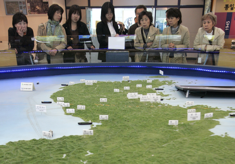 حذف كوريا الجنوبية واليابان من خريطة منظمة الصحة العالمية