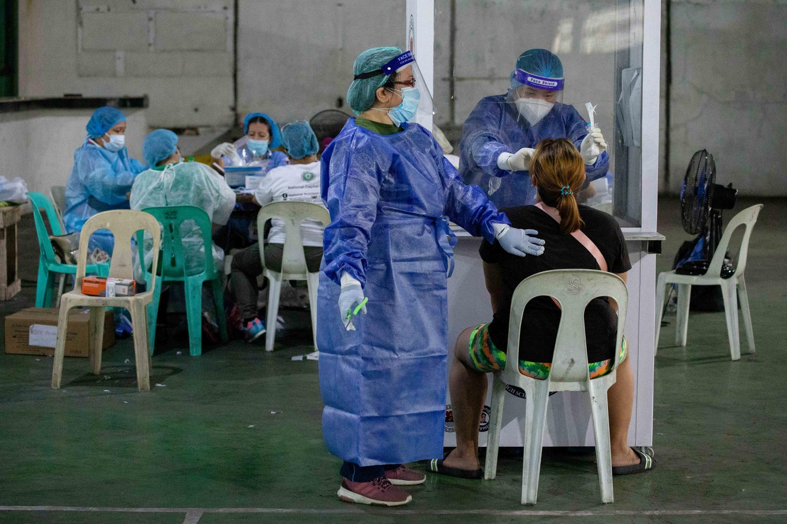 الفلبين تحتل المركز الثاني بعد إندونيسيا من حيث عدد الإصابات بكورونا في جنوب شرق آسيا