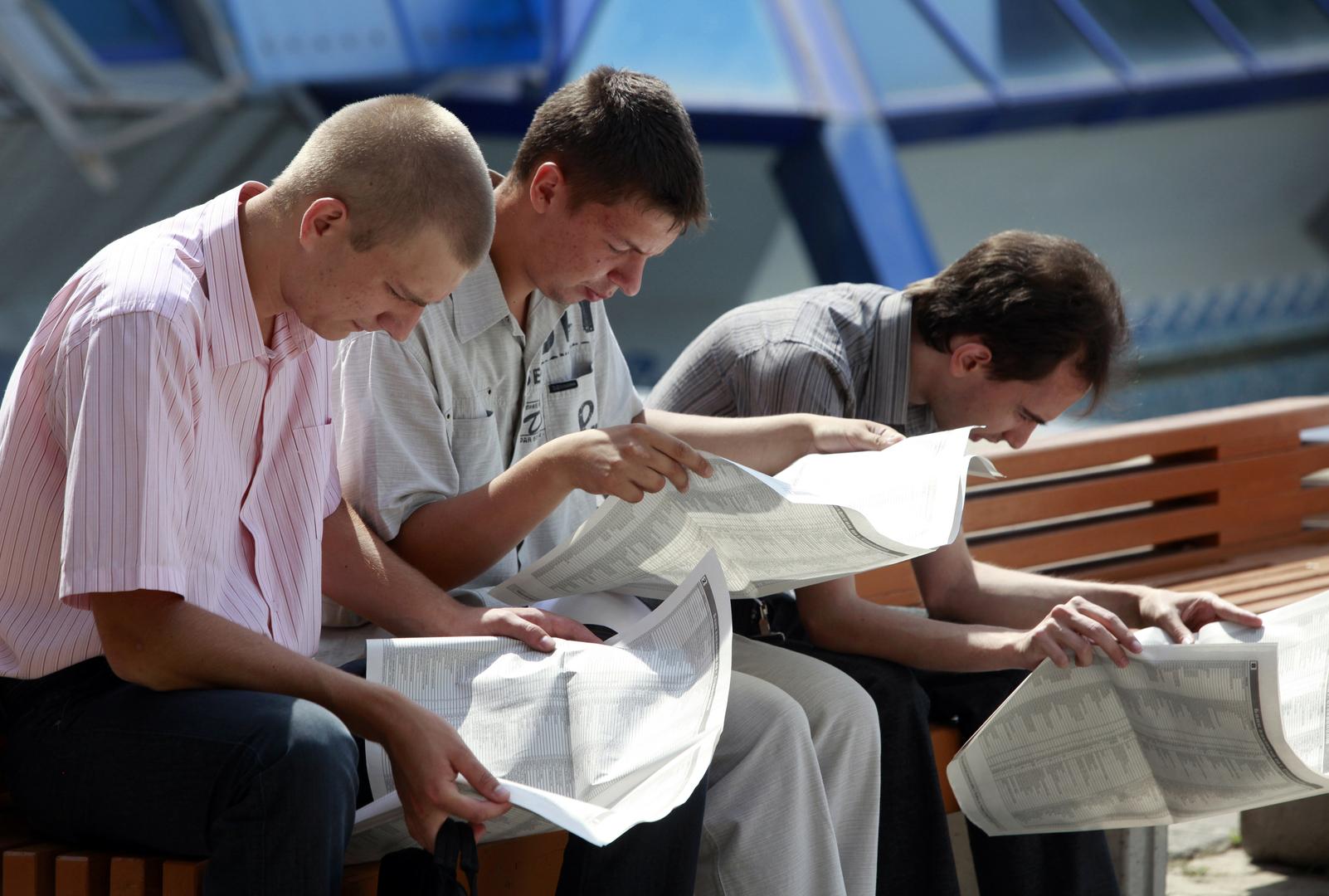 بوتين: مشكلة البطالة في روسيا آخذة في الزيادة