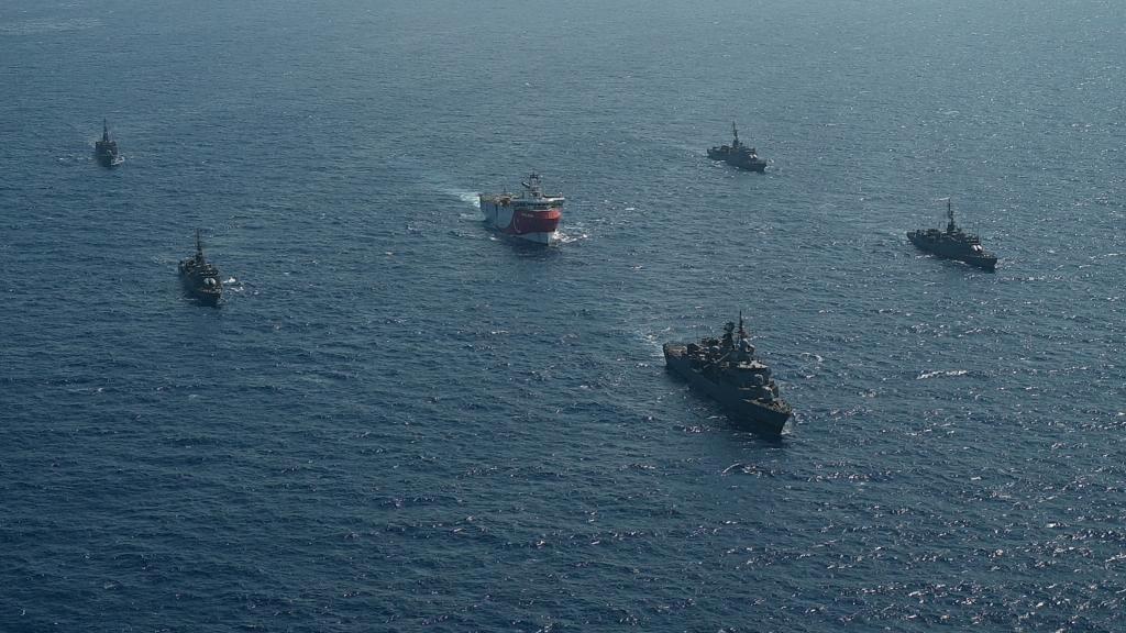 ألمانيا وفرنسا تمهلان تركيا أسبوعا لتوضيح موقفها في شرق المتوسط