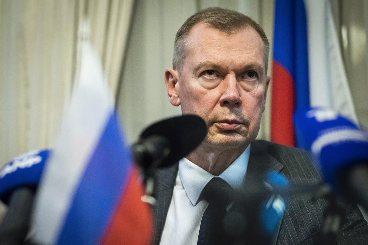 السفير الروسي في لاهاي، ألكسندر شولغين.