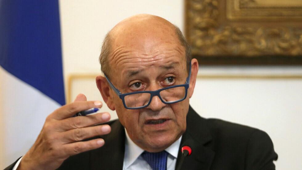 لودريان يدعو من الجزائر دول جوار ليبيا لمشاركة دبلوماسية أوسع في حل الأزمة
