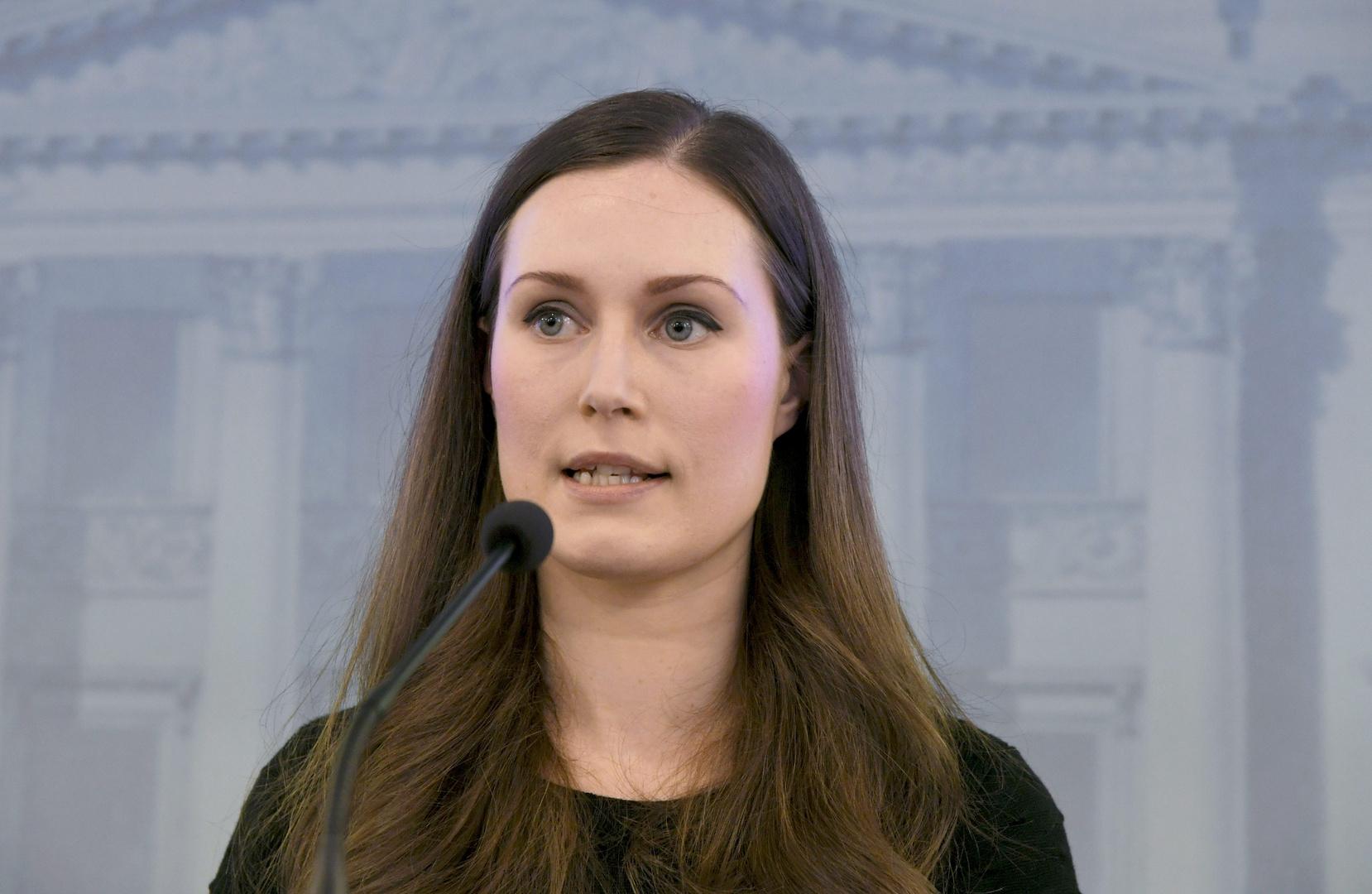 رئيسة وزراء فنلندا تغادر قمة الاتحاد الأوروبي في بروكسل للدخول في حجر صحي