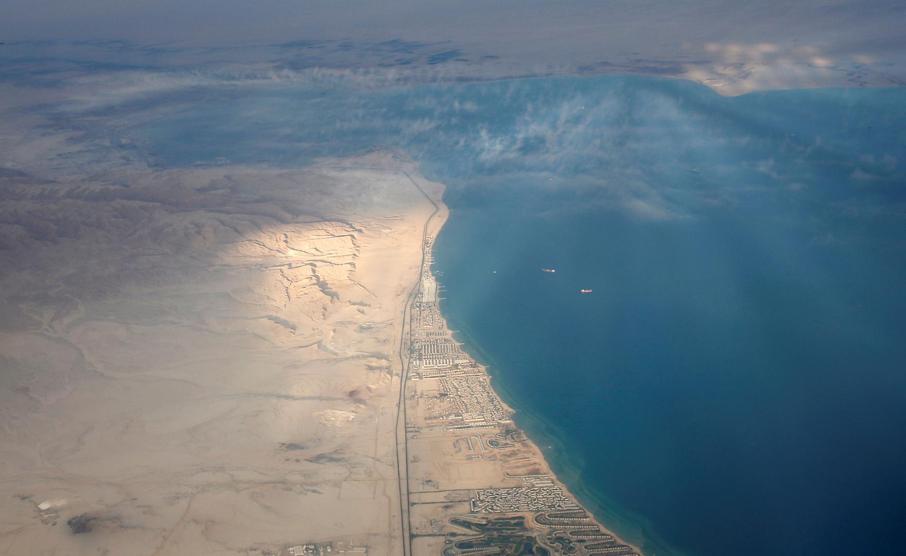 البحرية المصرية تتدخل لإنقاذ 11 مواطنا وسائحين