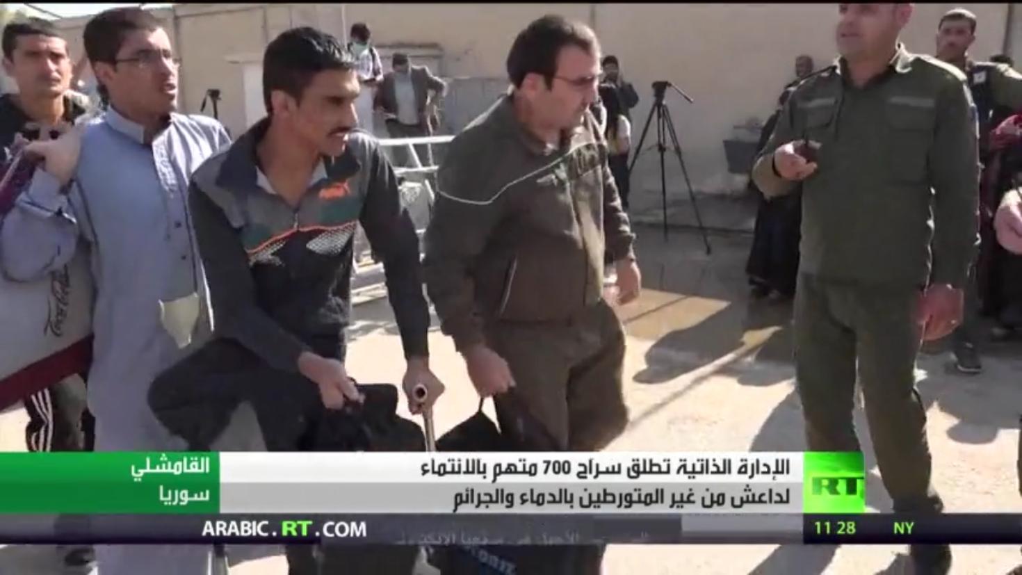 إطلاق سراح 700 متهم بالانتماء لداعش