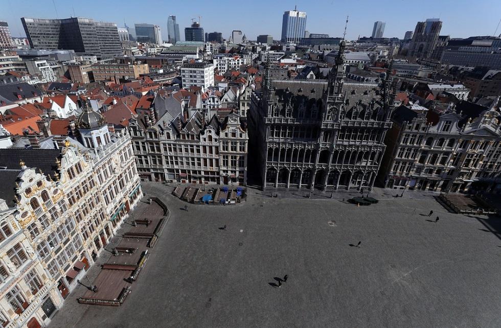 بلجيكا.. إغلاق المطاعم وحظر التجوال مكافحة تفشي كورونا