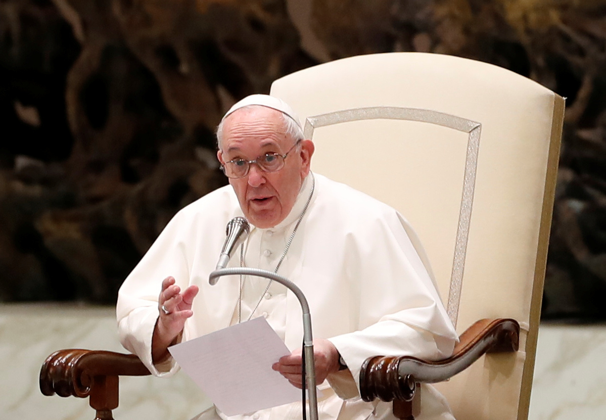البابا فرنسيس: