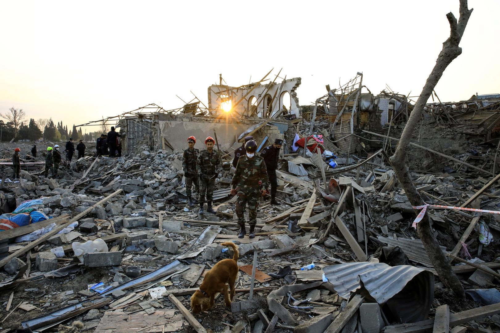 الاتحاد الأوروبي يدين قصف كنجة الأذربيجانية
