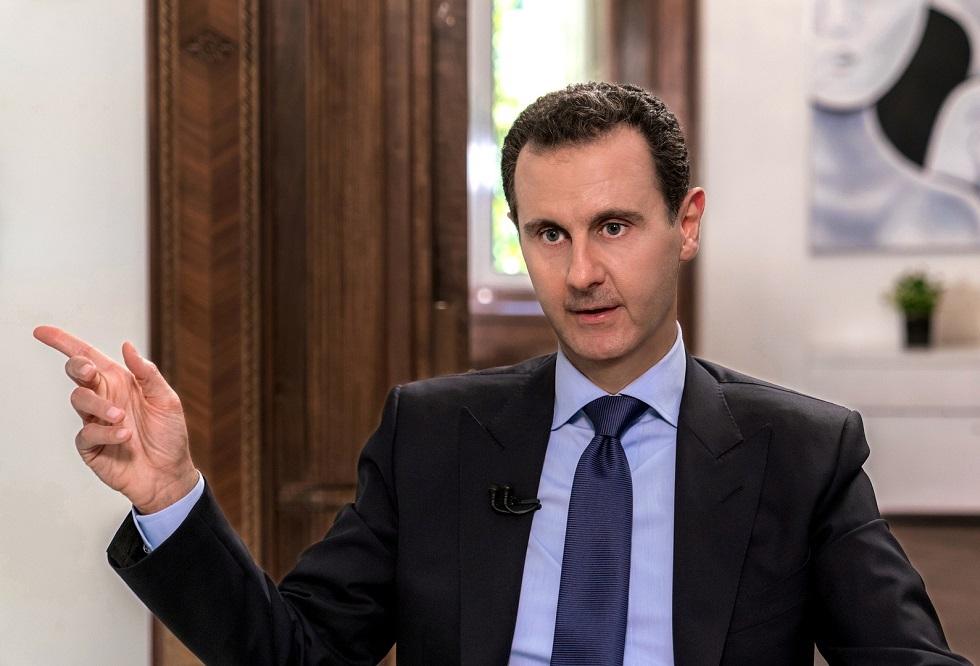 الرئيس السوري لأهالي بسوت: نحن هنا لندعمكم في محنتكم